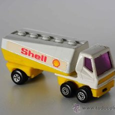Coches a escala: FREEWAY GAS TANKER Nº 63 LESNEY MATCHBOX SUPERFAST, AÑO 1973. Lote 27195132