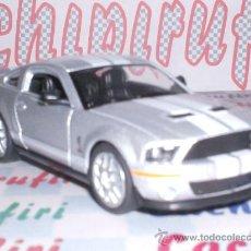 Coches a escala: SHELBY GT500 AÑO 2007 DE KINSMART ESC. 1,38 DE METAL ¡BONITO!. Lote 25360769