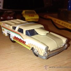 Coches a escala: FORD JUKERBOX DRAGSTER 1955 JOHNNY LIGHTNING RARO 1:67. Lote 27633909