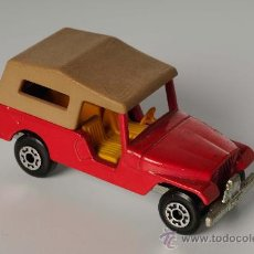 Coches a escala: CJ6 JEEP Nº 53 LESNEY MATCHBOX SUPERFAST, AÑO 1977. Lote 27828273
