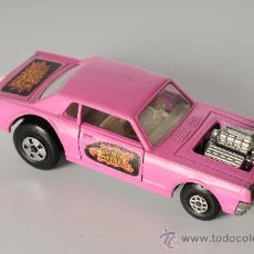 Coches a escala: COUGAR DRAGSTER Nº K21, LESNEY MATCHBOX SPEED KINGS, AÑO 1970. Lote 27933693