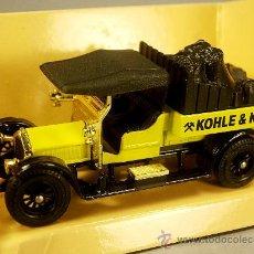 Coches a escala: CROSSLEY KOHLE & KOKS 1938 - Y-13 1985 - ESCALA 1/47 - MATCHBOX LESNEY MODEL OF YESTERYEAR. Lote 28012569