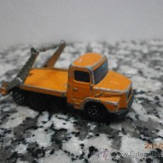 Coches a escala: CAMION MAJORETTE MULTI BENNE ECH. 1/100 Nº 222 MADE IN FRANCE. Lote 28714083