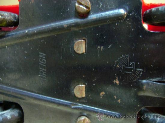 Coches a escala: ANTIGUO FURGONETA O CAMION DE BOMBEROS, MARCA L, FOREIGN, PLASTICO A FRICCION, FIRE ENGINE, ENGLAND - Foto 10 - 28799693