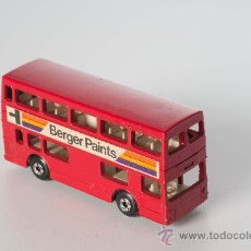 Coches a escala: AUTOBUS THE LONDONER Nº 17, LESNEY MATCHBOX SUPERFAST, AÑO 1972. Lote 28742783