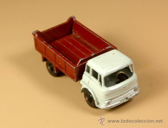 Coches a escala: LESNEY MATCHBOX Series 3b - CAMION BEDFORD 7 1/2 TON TIPPER Truck - Made in England 1961 - Foto 1 - 28977017
