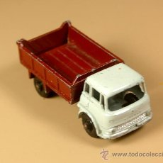 Coches a escala: LESNEY MATCHBOX SERIES 3B - CAMION BEDFORD 7 1/2 TON TIPPER TRUCK - MADE IN ENGLAND 1961. Lote 28977017