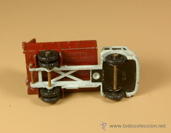 Coches a escala: LESNEY MATCHBOX Series 3b - CAMION BEDFORD 7 1/2 TON TIPPER Truck - Made in England 1961 - Foto 4 - 28977017