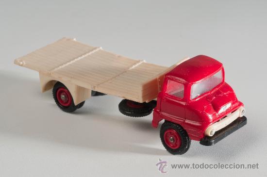CAMIÓN FORD THAMES, ANGUPLAS MINI CARS 1/86, MADE IN SPAIN (Juguetes - Coches a Escala Otras Escalas )