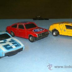 Coches a escala: COCHE MATCHBOX. LOTE DE 3 COCHES MATCHBOX.... Lote 29633658