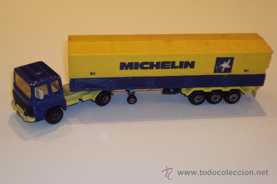 160Vendido Majorette escala Subasta En 29862501 camion Michelin ybf6gY7