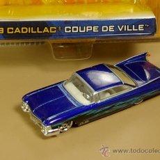 Coches a escala: CADILLAC COUPE DE VILLE 1959 - DUB CITY DE JADA TOYS - ESCALA 1/64 - NUEVO EN BLISTER. Lote 30046081