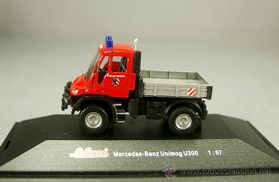 Roco 1//87 nº 1658 Mercedes Benz Unimog u 1300l policía OVP #607