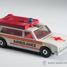 Coches a escala: COCHE AMBULANCIA K-49, LESNEY MATCHBOX SUPER KINGS, AÑO 1974 - MADE IN ENGLAND. Lote 30268717