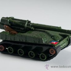 Coches a escala: TANQUE S.P. HOWITZER 155 MM K-107, LESNEY MATCHBOX BATTLE KINGS, AÑO 1974, MADE IN ENGLAND. Lote 30270003