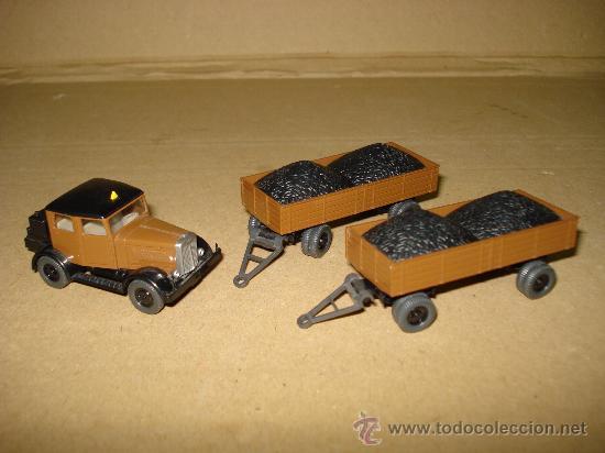 Coches a escala: HANOMAG TRANSPORTE DE CARBON Escala 1/87 *H0* de WIKING Made in Germany . Año 1970-80s - Foto 7 - 30876844