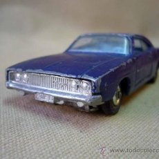 Coches a escala: COCHE, MATCHBOX, METALICO, KING SIZE, DODGE CHARGER, 1969, LESNEY PRODUCTS. Lote 31093048