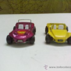 Voitures à l'échelle: COCHE GUISVAL.DOS COCHES METAL BUGGY SKODA Y BUGGY VOLKSWAGEN MADEN IN SPAIN. Lote 31007580
