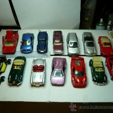 Auto in scala: COLECCION COMPLETA TOP CARS MAISTO 50 PIEZAS Y FICHAS. Lote 31436167