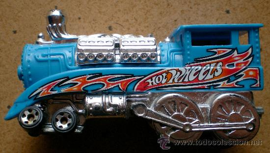 HOT WHEELS LOCOMOTORA TREN (Juguetes - Coches a Escala Otras Escalas )