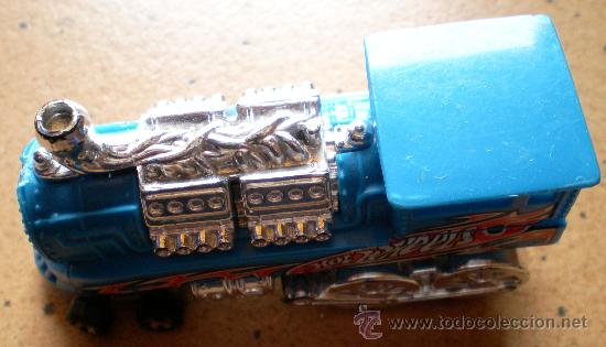 Coches a escala: Hot Wheels locomotora tren - Foto 2 - 31864160