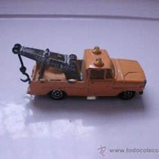 Coches a escala: MAJORETTE FURGONETA GRUA MADE IN FRANCE ECH 1,80. Lote 31928560