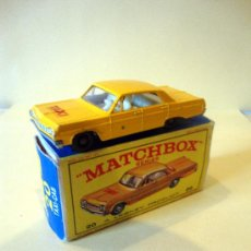 Coches a escala: MATCHBOX SERIES 20 CHEVROLET IMPALA TAXI CAB. WITH BOX. MADE IN ENGLAND BY LESNEY.. Lote 32085297