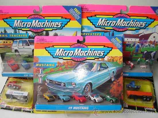 antiguo lote de coches y camiones micro machine - comprar coches