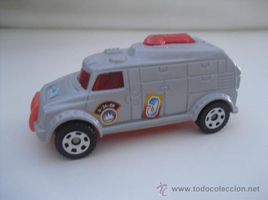 Coches a escala: Coche, miniatura.Matchbox mobile command. Mattel 2007 - Foto 2 - 32857008