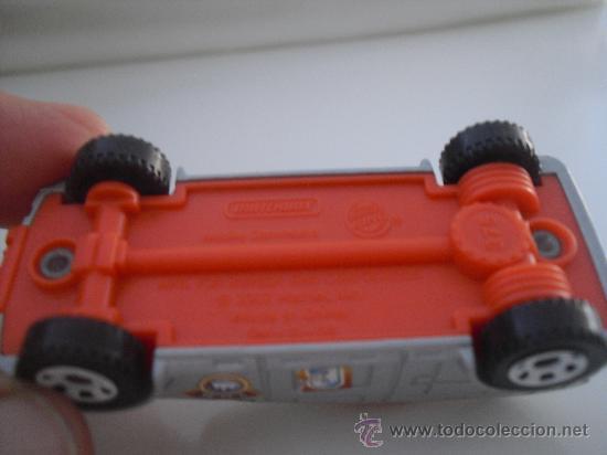 Coches a escala: Coche, miniatura.Matchbox mobile command. Mattel 2007 - Foto 3 - 32857008