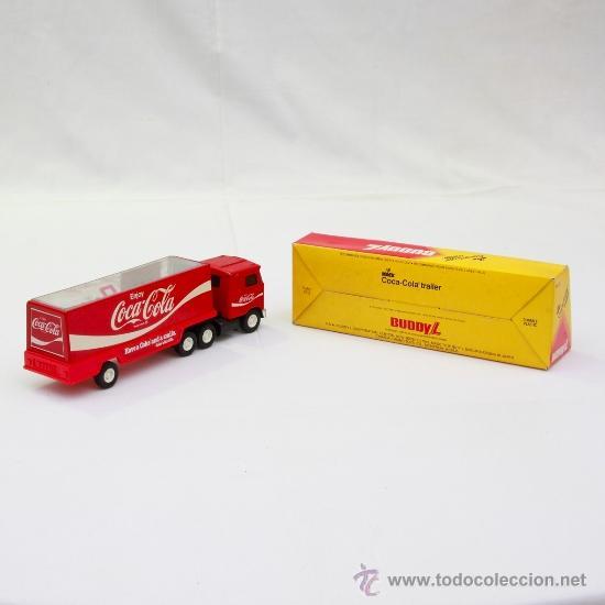 Coches a escala: Trailer Coca-Cola by Buddy L. - Foto 2 - 53762667