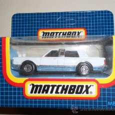 Coches a escala: MATCHBOX LIMOUSINE LINCOLN MB24, 1989. Lote 33137350