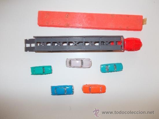 Coches a escala: NOREV MICRO MINIATURAS -5 COCHES + CAMION - Foto 2 - 33559823