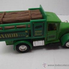 Coches a escala: CAMION WELLY 9350 TRANSPORTE DE TRONCOS. Lote 34465630