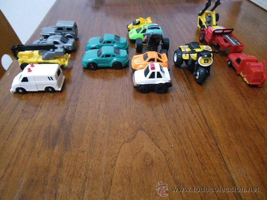 Coches a escala: Lote diverso miniaturas: trasnformables (4, más 3 para piezas), McDonald (2),etc...(fotos adiciona) - Foto 2 - 34867127