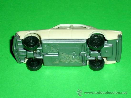 Coches a escala: Audi 100 crema, esc. 1/87 H0, BVC made in Spain, Wiking copy, original años 70. - Foto 3 - 35224764