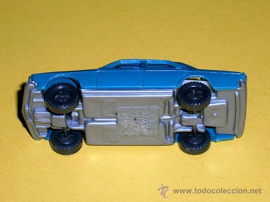 Coches a escala: Audi 100 azul, esc. 1/87 H0, BVC made in Spain, Wiking copy, original años 70. - Foto 3 - 35225586