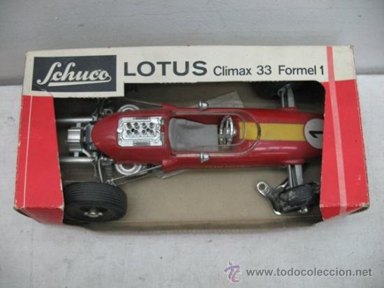 Coches a escala: Schuco Ref: 1071 - Lotus coche de formula 1 Climax 33 Formel 1 del año 1968 - Foto 13 - 35412526