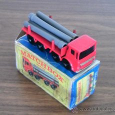 Coches a escala: LEYLAND PIPE TRUCK - MATCHBOX Nº 10 LESNEY. Lote 29878162