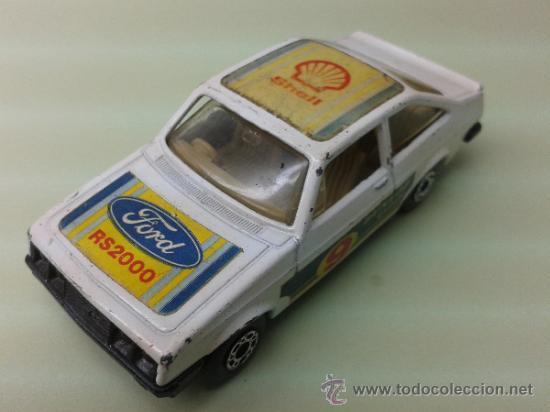 COCHE MATCHBOX Nº 9 FORD ESCORT RS 2000 1978 (Juguetes - Coches a Escala Otras Escalas )