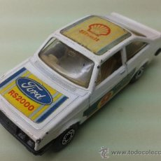 Coches a escala: COCHE MATCHBOX Nº 9 FORD ESCORT RS 2000 1978. Lote 36840250