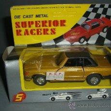 Coches a escala: * DIE CAST METAL, SUPERIOR RACERS, COCHE FRICCION DE LOS 70. Lote 37110501