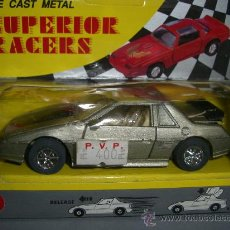 Coches a escala: * DIE CAST METAL, SUPERIOR RACERS, COCHE FRICCION DE LOS 70. Lote 37110545