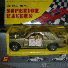 Coches a escala: * DIE CAST METAL, SUPERIOR RACERS, COCHE FRICCION DE LOS 70. Lote 37110591