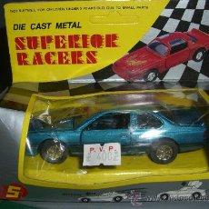 Coches a escala: * DIE CAST METAL, SUPERIOR RACERS, COCHE FRICCION DE LOS 70. Lote 37110643