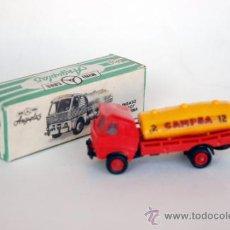 Coches a escala: MINICARS. CAMIÓN PEGASO Z-207 CISTERNA CAMPSA, DE ANGUPLAS. MINI CARS. 1958. Lote 37557261