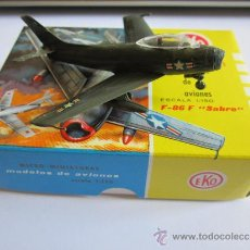 Coches a escala: EKO AVION F-86F SABRE, ESCALA 1:150, VARIEDAD COLOR. Lote 38018129