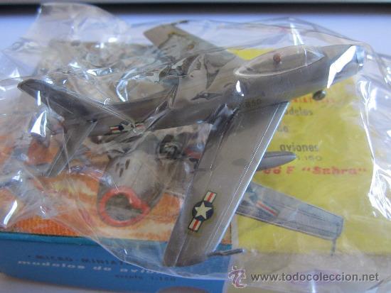 EKO AVION F-86F SABRE, ESCALA 1:150, PLATEADO (Juguetes - Coches a Escala Otras Escalas )