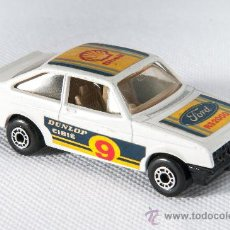 Coches a escala: COCHE FORD ESCORT LESNEY MATCHBOX RS2000, AÑO 1978, MADE IN ENGLAND. Lote 38176203