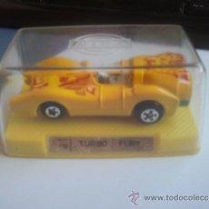 Coches a escala: COCHE TURBO FURY DE LA CASA MIRA . Lote 38184689